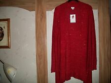 Jacklyn Smith Cardigan Open Marled Sweater Size 2XL  and 3XL  New