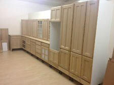 Wickes Galway 1000 Mm Wall Unit Kitchen Cupboard Natural