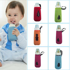 Baby Kids Portable Insulated Keep Warm Holder Pouch Cover for Milk Bottle