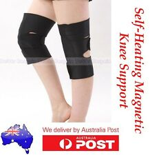 TOURMALINE MAGNETIC ADJUSTABLE KNEE SUPPORT STRAP HEAT BRACE GUARD-PAIN RELIEF