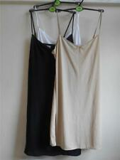 faMouS store full slip in black, natural and white -sizes 8 - 22 various lengths