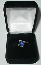 Blue star sapphire ladies ring sizes 5,6,7,8,9,10, for sale SWJ BRAND