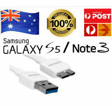 Genuine Samsung Galaxy S5 Note 3 Data Charger Sync USB 3.0 Cable Cord AU Stock