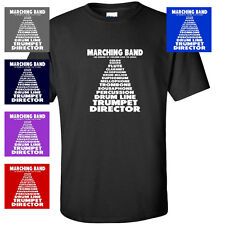 MARCHING BAND FUNNY LIST FUNNY COLOR GUARD MENS T-SHIRT