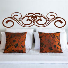 Flourish Design Headboard Wall Art Wall Sticker Wall Decal From Katazoom