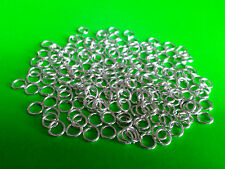 925 Sterling Silver COATED 5mm OPEN JUMP RINGS - Jewellery Findings Links