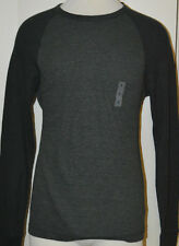 Men's Old Navy Green Long Sleeve Thermal Classic Two-Tone Shirt Top Size Small