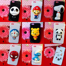 iPhone 6 6 Plus 5/5S/4S 3D Cartoon Characters Popular Case Cover
