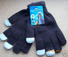 Ladies Women Gloves CoffeeTouch Screen Smart Phone iPad Tablet Keep Fingers Cosy