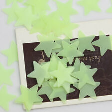 Home Wall Ceiling Glow In Dark Stars Stickers Decal Kids Bedroom Wedding Party