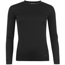 Ladies Campri Long Sleeve Thermal Base Layer Top Ski Winter BLACK ALL SIZES NEW