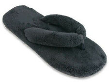 Ladies Womens Slippers Fuzzy Fluffy flip flop Thong Sz 5, 6