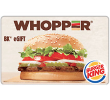 Burger King Gift Card - Email Delivery