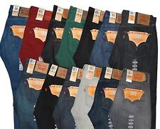 New Levi's 501 Mens Jeans Special and Unique Colors 32 34 36 38 40 42 31 30 33 +