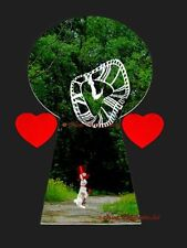 Down the Rabbit Hole (inspired by Alice) Matted Picture Print A648