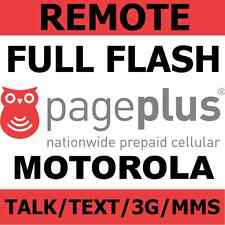 [REMOTE] Flash Verizon Motorola RAZR HD XT926 to Page Plus - Talk/Text/3G/MMS