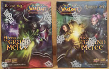 World of Warcraft WOW Arena Grand Melee Alliance/Horde Trading Cards:Boxes New