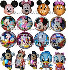2X MICKEY MINNIE DONALD DAISY DUCK BALLOONS (20 DESIGNS) BIRTHDAY PARTY SUPPLIES