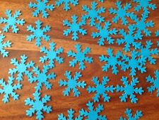 200 Wedding birthday snowflake confetti table decorations frozen ice frozen blue