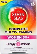 Seven Seas Complete Multivitamins Women 50+ Pack of 28