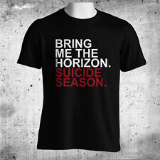 Bring Me The Horizon Suicide Season Mens Black T-Shirt Size M-3XL