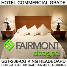 SALE!!!! FAIRMONT DESIGNS-COMMERCIAL WOOD KING/QN SIZE HYATT HOTEL BED HEADBOARD