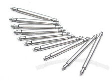 10 x watch spring pins/bars 10mm-20mm nickel plated free p&p same day postage