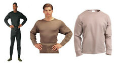 Extreme Cold Weather Poly Long John Underwear With Crew Neck Rothco