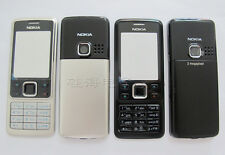 New Good quality full housing front back cover case keypad for Nokia 6300 black
