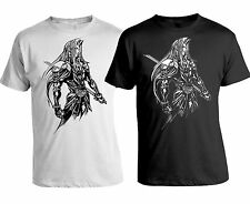 Final Fantasy VII 7 Sephiroth White / Black T-Shirt - Cloud Strife S M L XL XXL