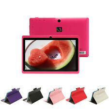 "iRulu 7"" Android 4.2 8GB Pink Tablet PC Dual Core Dual Camera WIFI w/ Case"