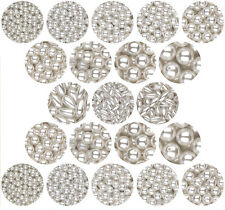 PEARL BEADS WHITE Round Oat 3mm 4mm 6mm 8mm 10mm 12mm