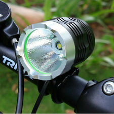 1200 Lumen CREE XM-L T6 LED HeadLight Headlamp Bicycle Bike Flashlight Light BK