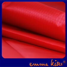 Red Waterproof Ripstop Nylon Light Fabric Coated Material Kites Tents Makings