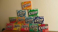 Extra gum various flavors---desert delights, Mints, Sweet Orange and More!!!