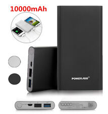 5000mAh External Power Bank Portable Dual USB Battery Charger For iPhone Samsung