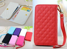 Fashion Universal Wallet ID Card Flip PU Leather Pouch Cover Case For S7580