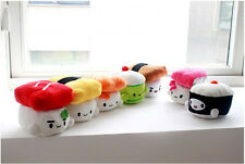 """Sushi Plush Decor Doll Portable Nap Pillows Home and Office Handy Cushions 6"""""""