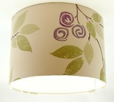 Lampshade Handmade with Next Geisha Mauve Wallpaper VARIOUS SIZES AVAILABLE