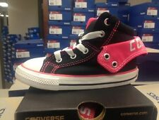 Toddler Girls Converse Chuck Taylor All Star Hi PC2 Sneakers New Black Pink
