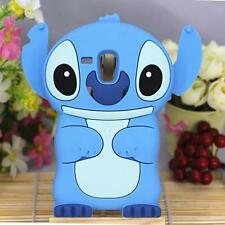 3D Stitch skin cover for Samsung Galaxy S Advance/S3 mini/Trend Duos S7562 case
