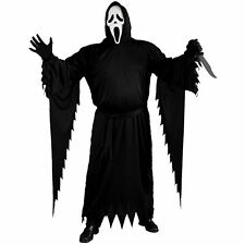 Ghost Face Costume Adult Scream Scary Horror Movie Halloween By Fun World
