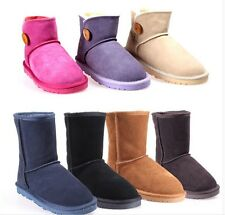 HOT Womens Ankle Boots Winter Warm Thicken Shoes Snow Boots Gao Bang