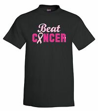Beat Cancer T-Shirt,cancer, fight, pink ribbon, tee