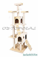 Cat Tree Scratching Post Condo Furniture Scratch Poles Bed Gym House 3 Choice