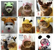Pet Dog Cat High Quality Cute Funny Animal Hat Wig Costume Free Shipment