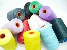 Leather Sewing Waxed Threads Jewellery Making various lenghts and colors WT1