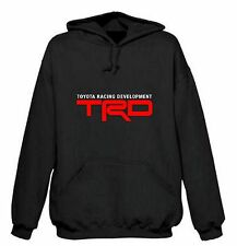 TOYOTA TRD RACING DEVELOPMENT HOODIE SWEAT SHIRT BLACK