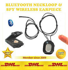 Spy Invisible Earpiece Earphone Induction Neckloop Micro Nano Covert Ear Bug