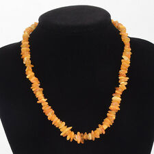 Natural Baltic Amber Adult Necklace in any Color You Choose